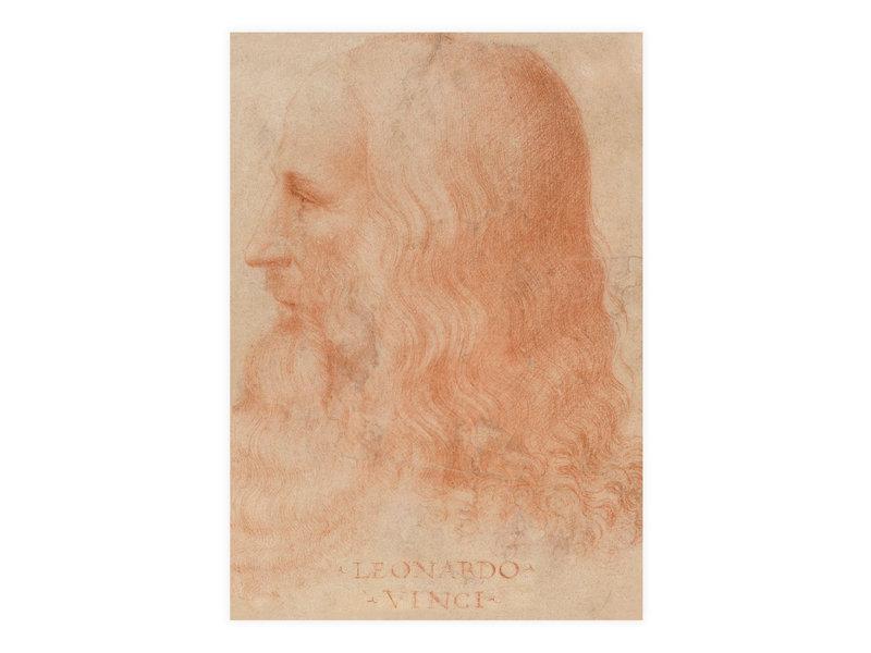 Carte postale, Da vinci, Autoportrait
