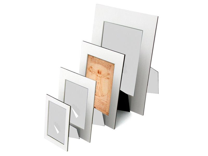 Passe-Partout mit Reproduktion, L, Da Vinci, vitruvianischer Mann