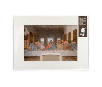 Passe-partout con reproducción, L,  Da Vinci, La última cena