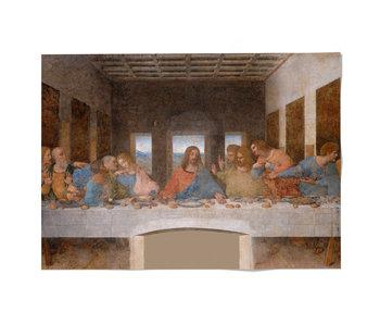 Cartel 50x70, Da Vinci, La última cena