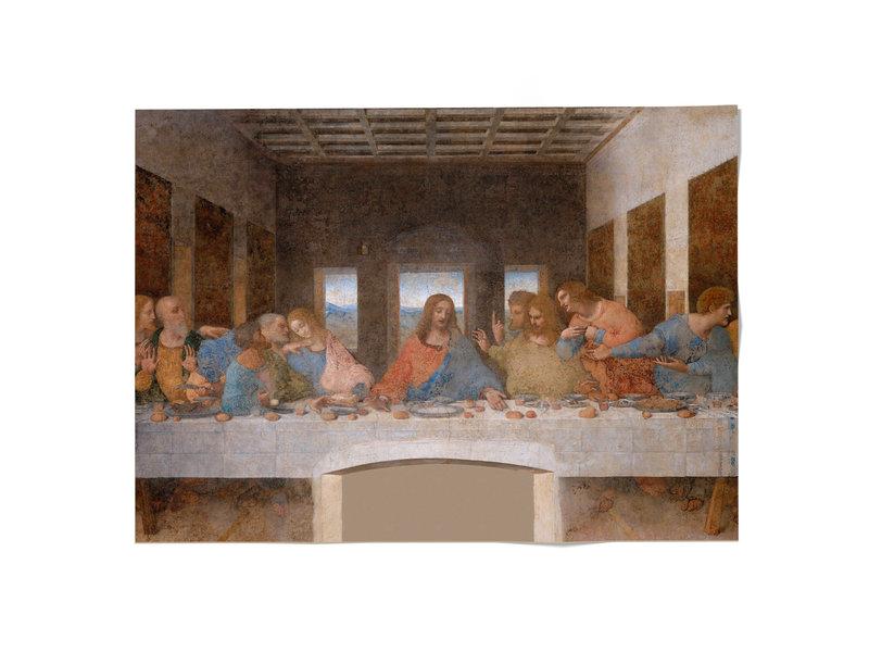 Affiche 50x70, FleurDa Vinci,  Le dernier souper