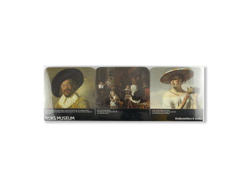 Onderzetters, Meesterwerken, Rijksmuseum