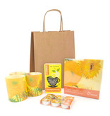 Christmas Art Gift set: Sunflowers Vincent van Gogh