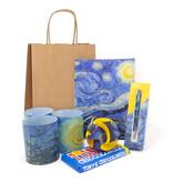 "Kerst kado set ""Sterrennacht"", Vincent van Gogh"