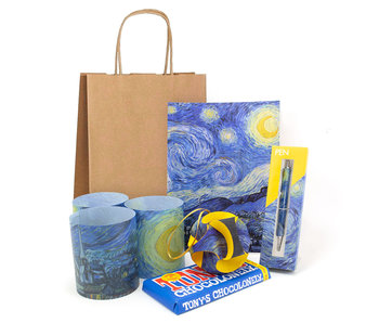 "Christmas gift set ""A starry night"""