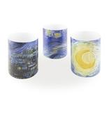 "Christmas gift set ""starry night"", Vincent van Gogh"
