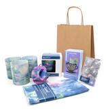 """Christmas gift set """"Water lilies on Christmas Eve"""""""