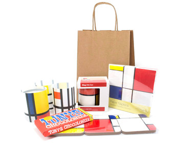 Christmas gift set, Mondriaan