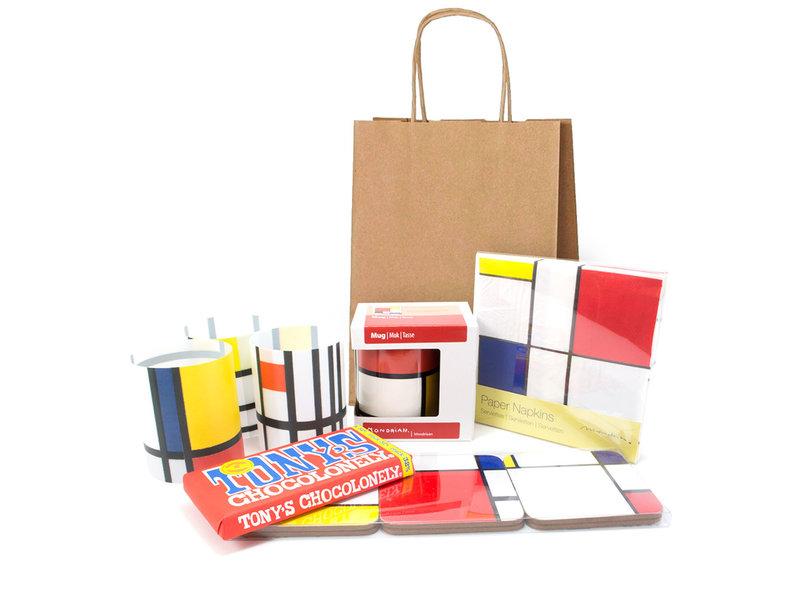 Set de regalo de Navidad, Mondrian