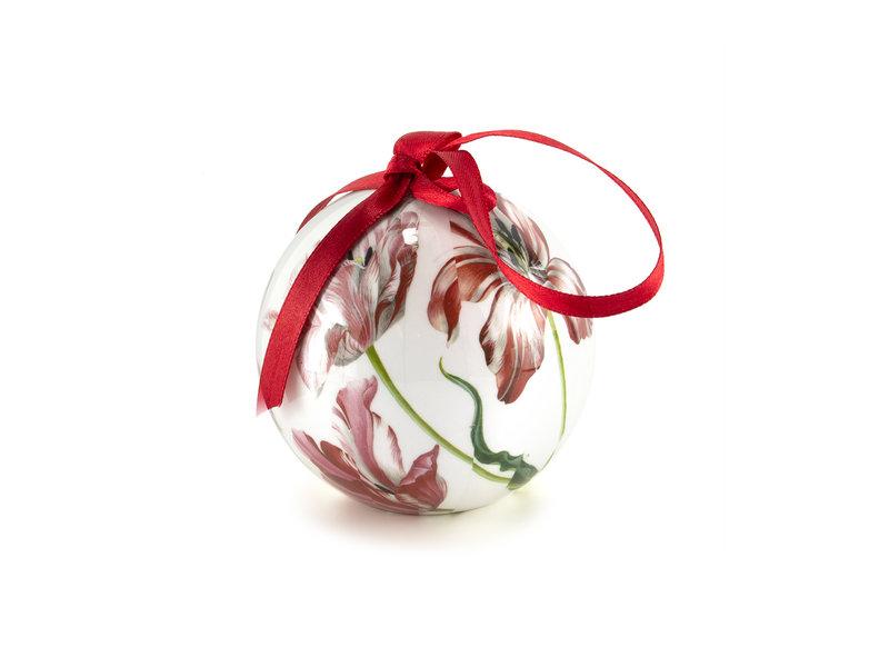 """Kerst kado set """"Fleurige kerstavond met tulpen"""""""