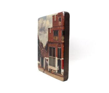 Masters-on-wood, Het straatje van Vermeer