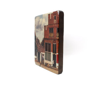 Masters-on-wood, Little street, Vermeer