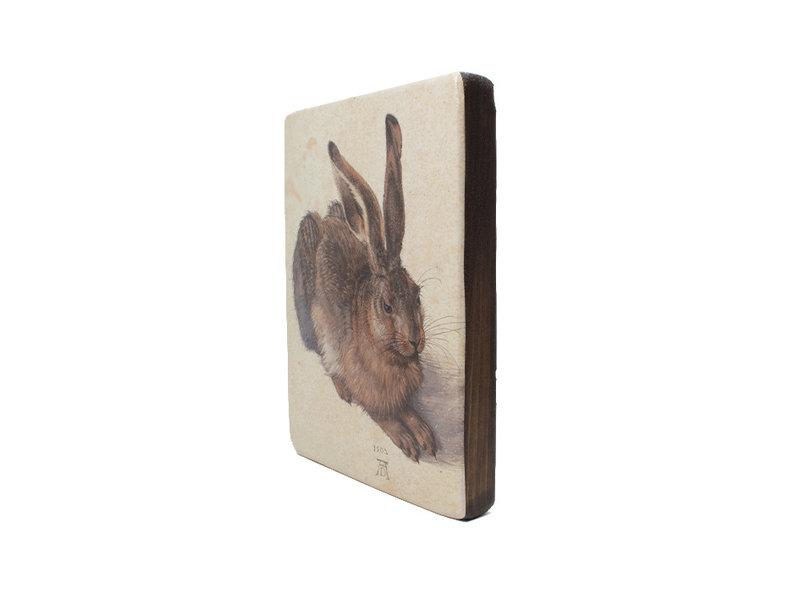 Meister auf Holz, Dürer, Hase, 265 x 195mm
