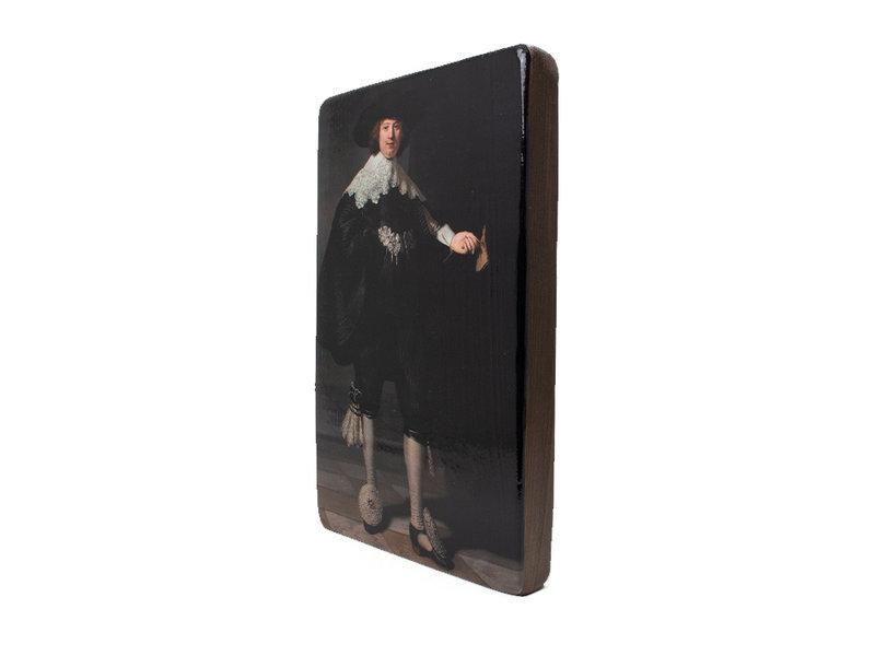 Meister auf Holz,  Rembrandt, Marten, Rijksmuseum, 300 x 195mm
