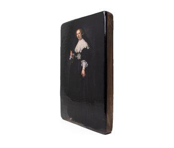 Maîtres-sur-bois,  Rembrandt, Oopjen, Rijksmuseum