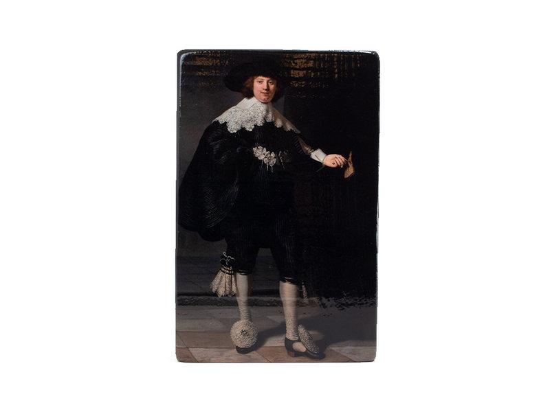 Meesterwerk-op-hout, Rembrandt, Marten, Rijksmuseum, 300 x 195mm
