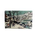 Meister auf Holz, Bruegel, Jäger im Schnee, 300  x  195 mm