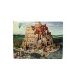 Maîtres-sur-bois, Bruegel, Tour de Babel, 265 x  195 mm