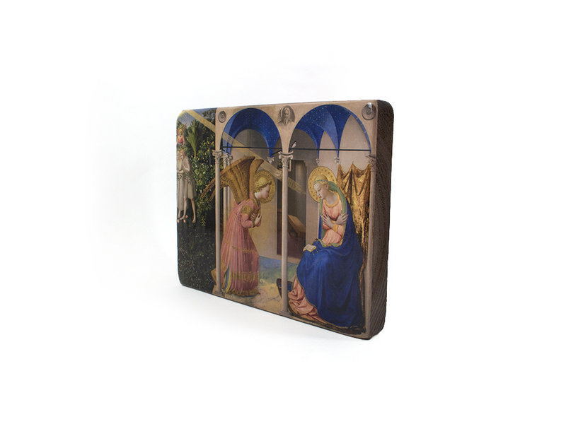 Masters-on-wood,  Fra Angelico, 265 x  195 mm