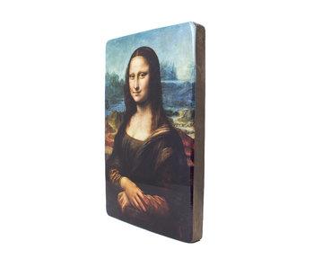 Meister auf Holz,  Da Vinci, Mona Lisa
