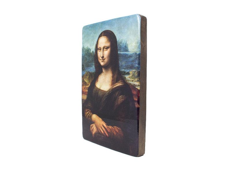 Maîtres-sur-bois,  Da Vinci, Mona Lisa, 265 x  195 mm