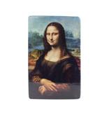 Maestros en madera,  Da Vinci, Mona Lisa, 265 x  195 mm