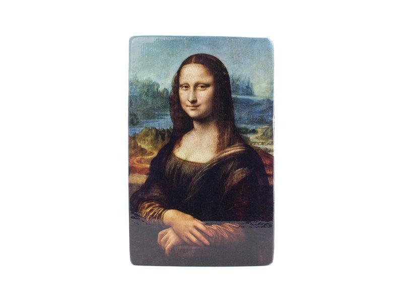 Meister auf Holz,  Da Vinci, Mona Lisa 265 x  195 mm