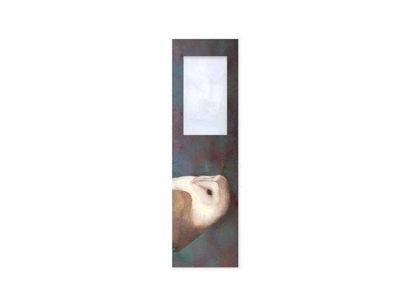 Marque-page avec loupe, Jan Mankes, chouette