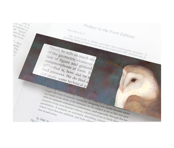 Magnifying Bookmark, Jan Mankes, Owl