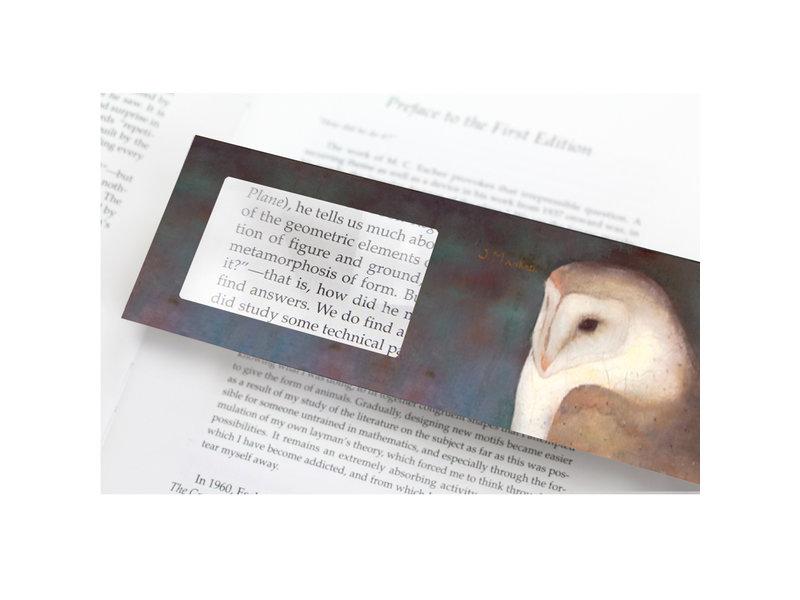 Magnifying Bookmark, Jan Mankes, Owl