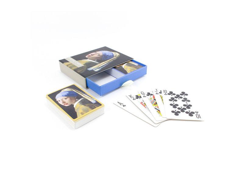 Bridge kaartenset, Vermeer, Meisje met de parel