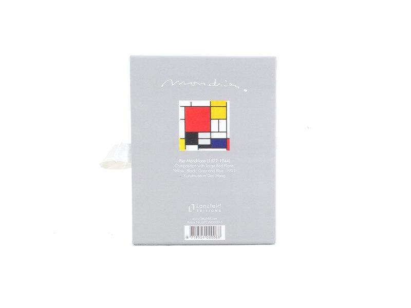 Set of 2 playing cards, Mondrian