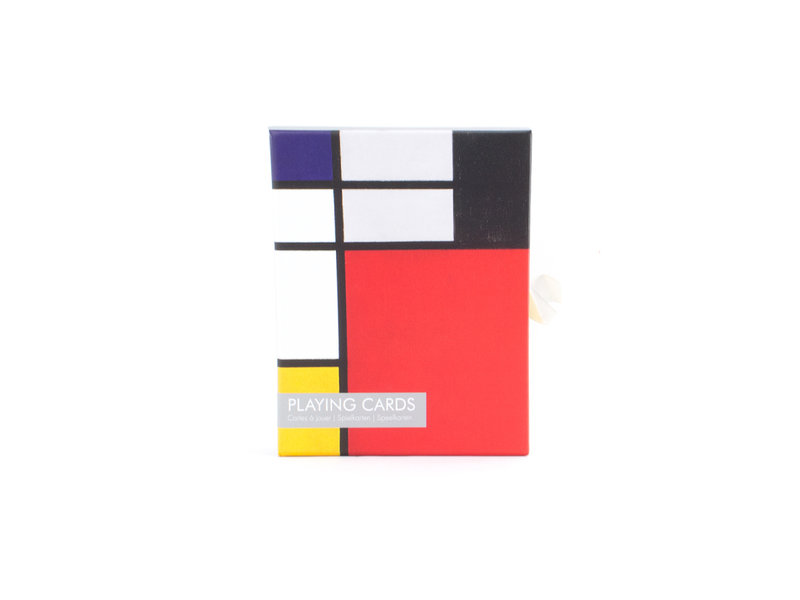 Set of 2 card games, Mondrian