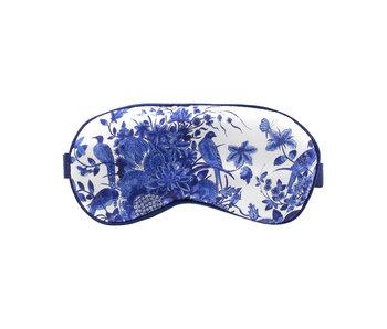 Masque de sommeil, oiseaux bleus de Delft, Rijksmuseum