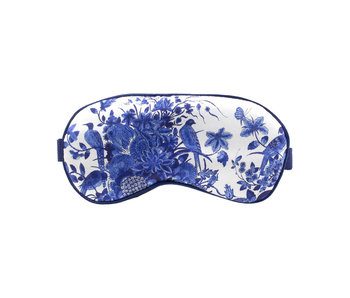 Sleeping mask , Delftware birds, Rijksmuseum
