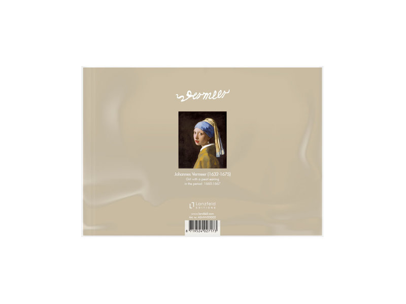 Antifaz para dormir, Chica con un pendiente de perlas, Vermeer