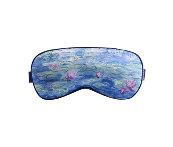Sleeping mask, Monet, Waterlilies