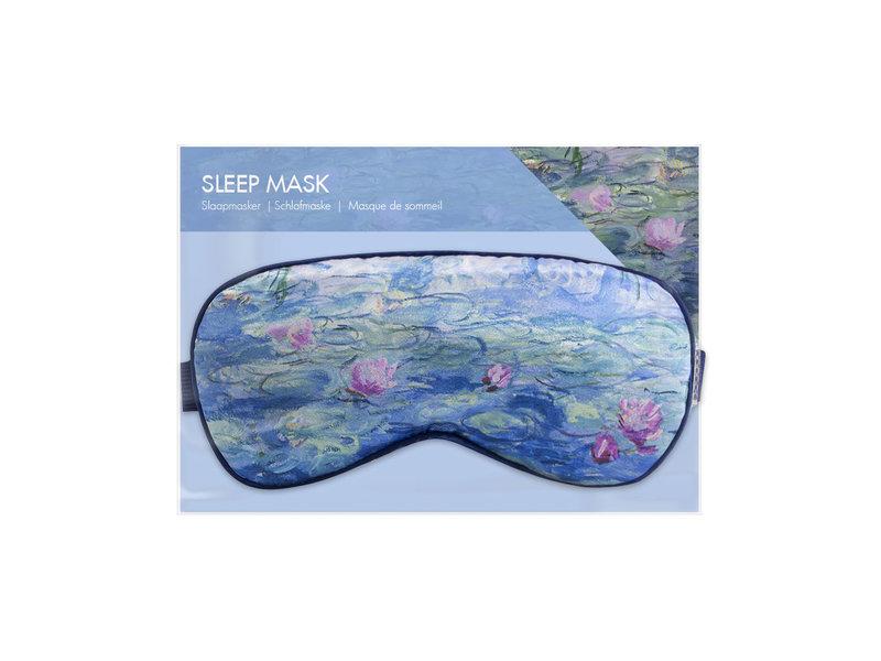 Schlafmaske, Monet, Seerosen