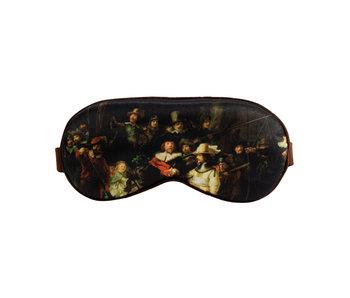 Masque de sommeil, Rembrandt, la veille de nuit