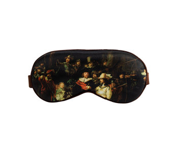 Sleeping mask, Rembrandt, The Night Watch