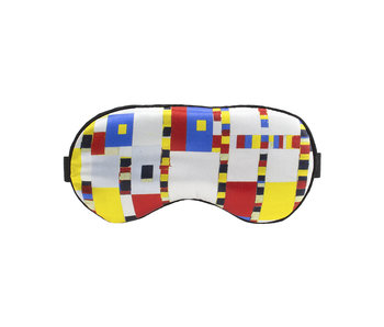 Sleeping mask, Mondrian, Victory Boogie Woogie