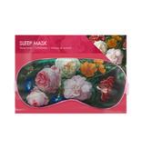 Schlafmaske, Blumenstillleben, De Heem