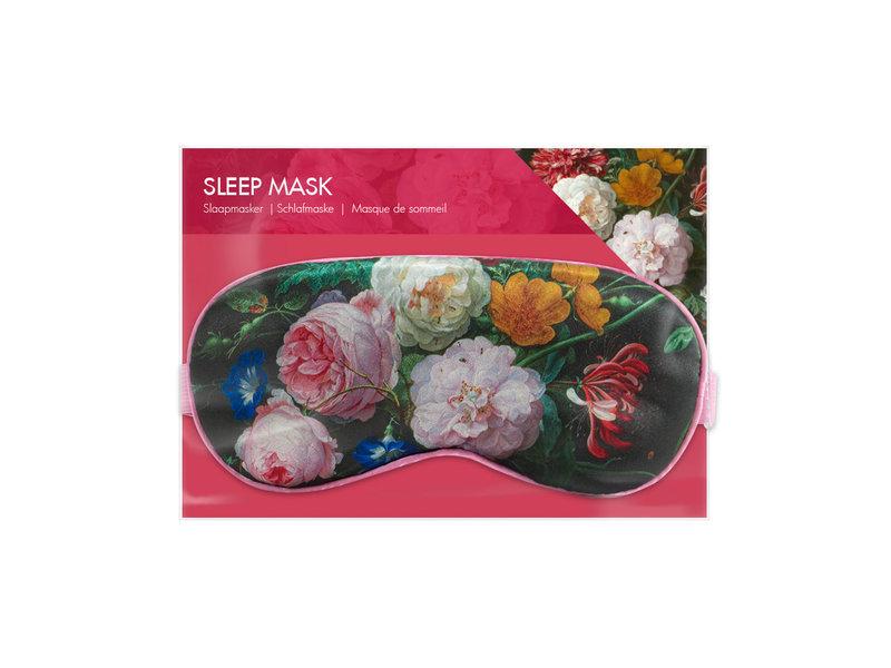 Masque de sommeil, nature morte aux fleurs, De Heem