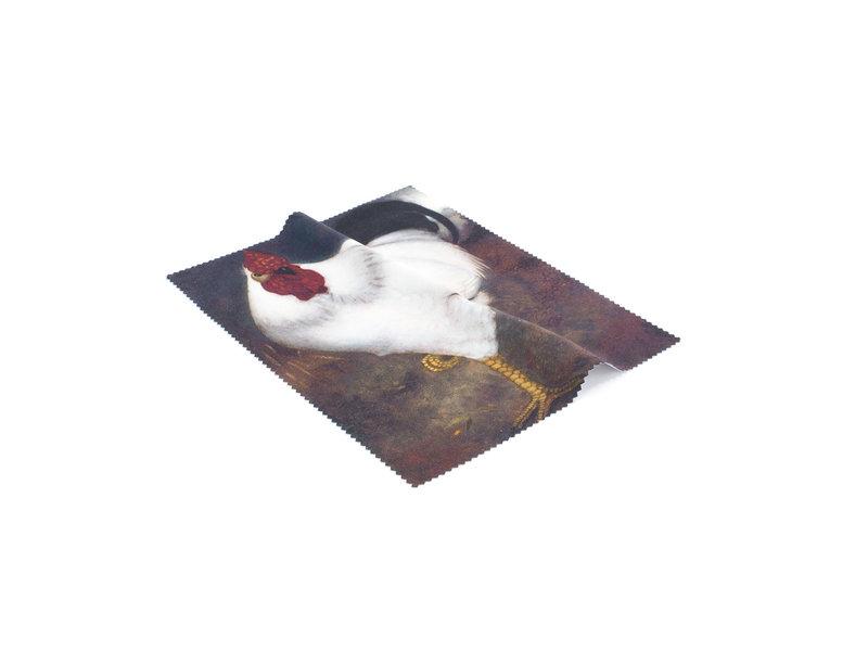 Brillendoekje, 15 x 18 cm,  Witte Haan, Jan Mankes, Museum More