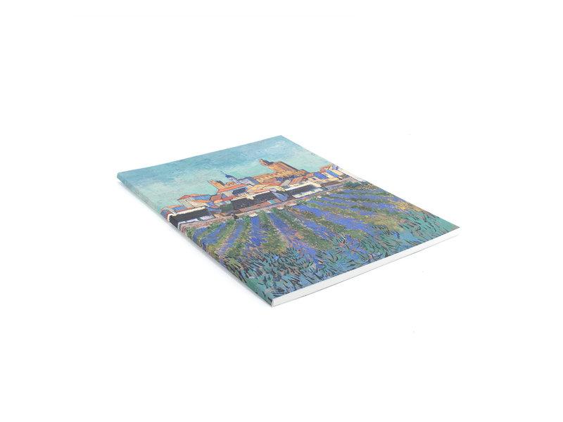 Artist Journal,  Gezicht op Saintes-Maries-de-la-Mer, Van Gogh