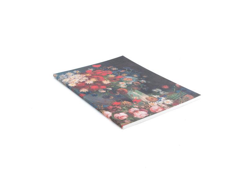 Artist Journal,  Stilleven met akkerbloemen en rozen, Van Gogh