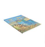 Cahier d'artiste, Pont à Arles, Van Gogh