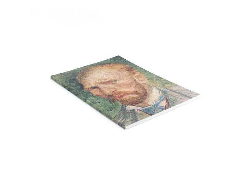 Cahier d'artiste, Autoportrait Vincent van Gogh