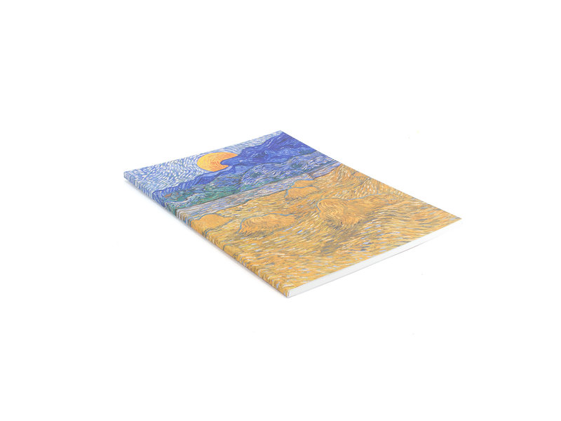 Artist Journal, Landscape with Wheat sheaves, Van Gogh