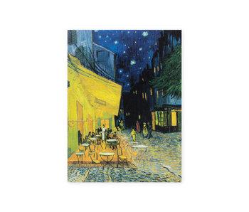 Diario del artista,  Terraza del café de la tarde, Van Gogh